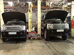 Range Rover engine services